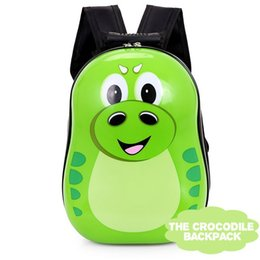 Wholesale Shool Bags - The Crocodile backpack shool bag for baby boy and baby girl
