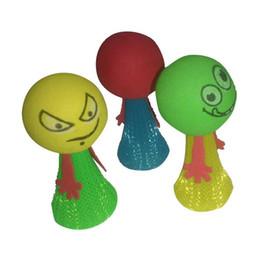 salto di plastica all'ingrosso Sconti Sessantuno giocattoli di plastica per bambini carino elfo che salta la gente che salta i giocattoli dei bambini della molla stalla del rifornimento all'ingrosso