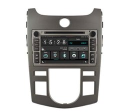 Wholesale Gps For Forte - Navirider car dvd play for Kia Forte Cerato Koup 2008-2011 stereo wince6.0 dual core 256MB Capactive touch 1080P DVR 3G WIFI TPMS GPS radio