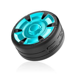 Wholesale tyre shape - Newest Arrival Tyre Shape Waterproof Bluetooth Mini Speaker supportTF USB Portable Music Bluetooth Speakers Subwoofer Loud Wireless speak
