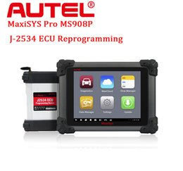 Wholesale Engine Oil Tools - Biggest Discount Lowest Price Original Autel MaxiSYS Pro MS908P Diagnostic System with WiFi BT Support Online ECU Programming