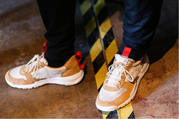 Wholesale Natural Flat Shoes - Tom Sachs x Craft Mars Yard 2.0 TS NASA Running Shoes For Men Natural Red Crafts Sports Sneakers Designer Shoes Zapatillas Vintage36-46