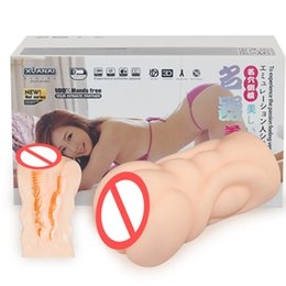 Wholesale Sex Products Anal - Male Masturbator Sex Toys for Men Silicone Artificial Vagina Real Pussy and Anal Pocket Pussy Anus Sex Products for Man