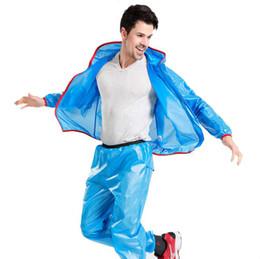 Wholesale Men Rainproof Jacket - Practical Cycling Raincoat Bicycle Jersey Windcoat Bike Clothing Running Sleeve Jacket Rainproof Waterproof Clothes Free Shipping