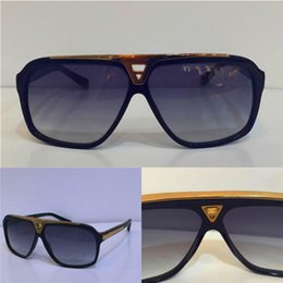 Wholesale Laser Goggles - Luxury Sunglasses Mens Brand Designer Sunglasses Retro Vintage Frame Glowing Golden Summer Style Laser Gold Plated with Original Box
