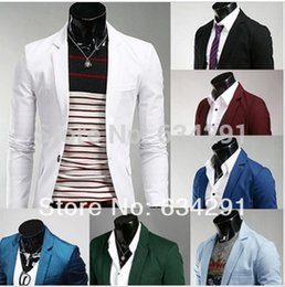Wholesale Gents Suits - Wholesale- white red man spring 2016 casaco blazer masculino suits for men blazers suit men's jacket male mens designs blaser jackets gents