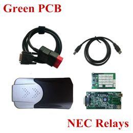 pcb bluetooth Rabatt Großhandel-N-ec Relais Grüne Platine TCS CDP + Pro ohne Bluetooth Autos Lkw Diagnose-Tool 2015.1 oder 2014.3 optional
