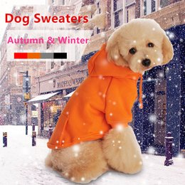 Wholesale Knitted Dog Sweaters - Pet Fashion Series Dog autumn winter clothes polo knit Sweaters small dog Vest casual shirts 6 sizes 4 colors