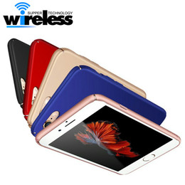 Wholesale Blue Frosting - For Apple Iphone 7 6 plus case cover 360 luxury Hard Frosted PC Back Cover Full Protection back cover
