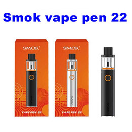 Wholesale Electronic Cigarettes Start Kit - smok smoktech vape vapes pen 22 start kit kits mod mods tank tanks smoke smoking vaporizer pens e electronic cigarette ecig clone clones