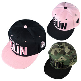 Wholesale Hiphop Boy Snapback - Wholesale- 2016 New Fashion Embroidery Snapback Boy Hiphop Hat Adjustable Baseball Cap Sport Hat for man and woemn