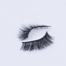 Wholesale 36 Hair Extensions - HOT selling 1 pair 3D Handmade Thick Mink Eyelashes Natural False Eyelashes for Beauty Makeup fake Eye Lashes Extension 3d-36