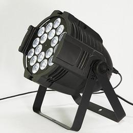 Wholesale Stands For Light - Quad Par 18x12W RGBW 4-in-1 LED Par Light Dmx Par Cans 64,Floor-standing Wash Light Projector For Event,Stage,Wedding,4pcs Carton