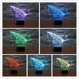 Wholesale Super Mario Wedding - Christmas Decoration Light Super Mario LED Night Light 3D Optical 7 Colors Changeable USB Touch Acrylic Panel Light for festive gift