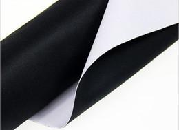 Wholesale Weave Spray - Background Materi Photography Studio Non-woven Backdrop Background Screen 2 x 1 M Black White 2 Colors