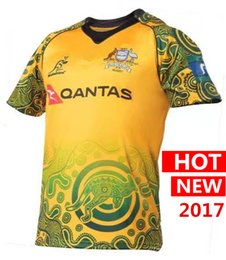 Wholesale Australia Free - DHL free shipping 17 18 NRL National Rugby League Jersey Australian Commemorative Edition 2017 2018 rugby Jerseys Australia t shirt s-3xl