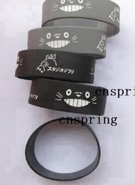 Wholesale Popular Silicone Wristbands - New Popular My Neighbor Totoro Wristband Silicone Promotion Gift Filled In Color Bracelet S-9