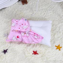 Almohadas saludables online-Juego de almohadas Cómodo envoltorio de algodón Patrón de animales de dibujos animados Toque suave Cojín precioso Fundas de cojín sanas Práctico Caliente 9xm J R