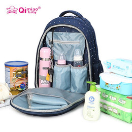 Wholesale Red Baby Diaper Bags - New Fashion Mummy Maternity Nappy Bag Large Capacity Baby Bag Travel Backpack Nursing Bag Baby Care Diaper Pack