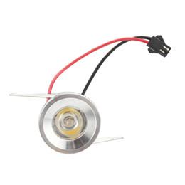 Wholesale mini led driver - Wholesale- 100PCS Lot Mini led spot downlight 1W 3W cabinet lamp led lights AC85-265V include led driver mini light