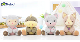 Wholesale Hottest Toys China - hot selling Metoo Dolls Cute Stuffed Cartoon Animal Design Babies Plush Toy Doll for Kids Birthday   Christmas Gift