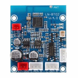 Wholesale Stereo Amplifier 24v - DIY Bluetooth 3.0 Audio Receiver Amplifiers Board Wireless Stereo Sound Module for 12V 24V Car Phone