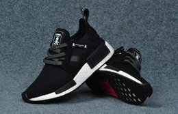 Wholesale Clay Skulls - Drop Shipping Mastermind x NMD XR1 Japan BA9726 Black with Skull Running Shoes Men Women Runner Ture Real Boost With Original Box Shoes