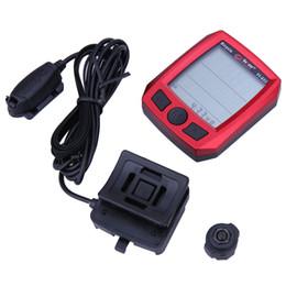 Wholesale Bike Speedometer Bogeer - Waterproof Multifunctional BoGeer Bicycle Speedometer Odometer LCD Backlit Cycling Computer Bike Speedometer Imported Sensors
