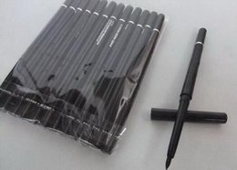Wholesale Automatic Eyeliner - FREE SHIPPING HOT high quality Best-Selling Newest Products automatic rotating black and brown eyeliner pen & gift