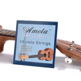 Wholesale Nylon String Acoustic - Amola Ukulele Strings Nylon Professional Uku 4 Strings Uke Light String encordoamento