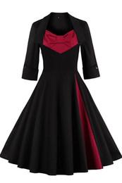 Wholesale Women S Dress Trench Coats - Vintage Black Red Burgundy Women's Ruffles Draped Denim Zip Trench Coat Outwear Long Jacket Overcoat Plus Size Work Winter Dresses FS0493