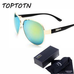 Wholesale Couture Wholesale Fashion - Wholesale- 2016 brand new couture designer fashion sunglasses retro glasses quality fishing UV400 men bag postage Metal frame 30256