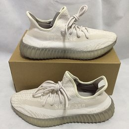 Wholesale Yellow Oxford Shoes - White Cream Oxford Tan SPLY 350 boost V2 2016 Newest BY9612 BY1605 Black White Boost 350 Running Shoes Grey Orange