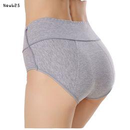 Wholesale Girls Blue Panties - 3Pcs lot Menstrual protective panties watertightness women's briefs Lady's underwear Cotton underpants girl menstrual lingerie