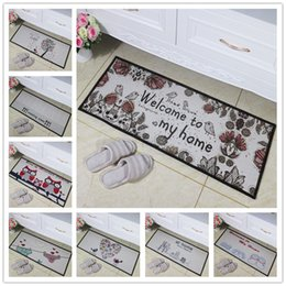 Wholesale Wholesalers Foot Mats - Cotton Rugs Area Carpet Living Room Bedroom Flannel Matress Two Size Available Multi Patterns Perfect For Gifts Living Room Bedroom Foot Mat