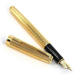 Wholesale Executive Fashion - Promotion!!! Parker pen Fountain Pen Fashion Business Parker Executive Brand good quality 18K golden pen