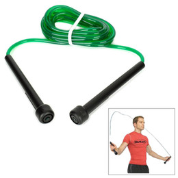 Wholesale Plastic Skipping Rope Jumping - 2016 Real Hot Wholesale Win.max Wmf04537 Nylon + Plastic High Speed Rope Skipping Jumping for Body Building Gym Lose Weight Green Black