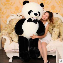Wholesale Giant Plush Lovely Bear - 80 100 120 140cm giant plush panda bear skin Biggest Lovely Soft Huge Giant panda factory price high quality