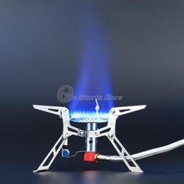Ultraleichte Dpower Aluminiumlegierung Edelstahl Outdoor Burn Camping Gasherd Gasherd mit Piezozündung Wandern von Fabrikanten