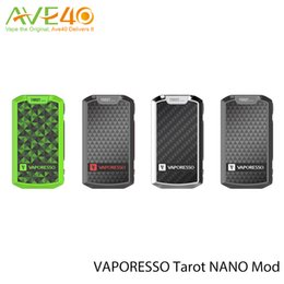 Wholesale Nano Board - VAPORESSO Tarot Nano TC Mod 2500mah OMNI Board Fit More Output Mode Smart VW CCW VT CCT TCR By 80 Wattage