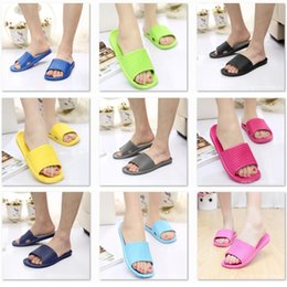 Wholesale Mop Slippers Wholesale - Summer skid bath slippers men and women indoors home bath cool slippers four seasons men and women couples home slippers