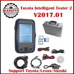 Wholesale Denso Intelligent Tester - 2017 Latest version 2017.01 toyota tester For Toyota And Suzuki toyota denso intelligent tester2 tester-2 it2 with oscilloscope