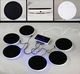 musikinstrumente elektronischen trommeln Rabatt 44K Audio-Sound-Gadgets Tragbarer elektronischer Schlagzeugsatz Musikinstrumente Percussion-Schlagzeugsatz Sechs Schlagzeug-Pads mit LED-Blitzmodus