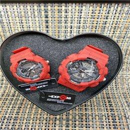Wholesale Weide Watch Chronograph - Men Fashion Casual Quartz Wristwatches Digital Dual Time Sports Watches Chronograph Waterproof Relogio Masculino 1220