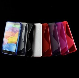 Wholesale Cover For Galaxy S Phone - For Samsung Galaxy S8 Plus EDGE 2017 A3 A5 A7 J5 J7 Prime 2016 S line Grip Wave Soft TPU Gel Rubber Clear skin Phone back cover case 10pcs