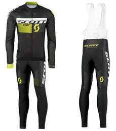 Wholesale Mtb Long - 2017 Scott Autumn Breathable pro team cycling jerseys long sleeve quick dry cloth MTB Ropa Ciclismo Bike Clothing Bicycle maillot GEL