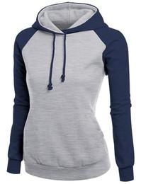 Wholesale Wool T Shirt Women - 6 COLORS HOT SELLING WHOLESALE FREE SHIPPING New raglan basic style fashion fleece hoodies raglan sleeve T-shirt color cap