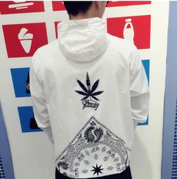 Wholesale Long Silk Jackets Women - DGK fashion Jacket Men Women Summer Windproof Sunscreen Windbreaker Hipster Leisure Suit Skateboard Hip Hop Sunproof White DGK Jackets