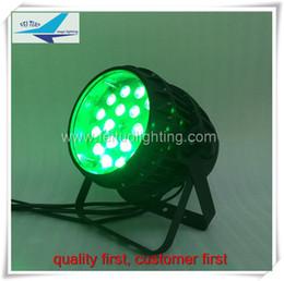 Wholesale Active Sound Design - 6xlot Waterproof Zoom Led Par Light 18*18W RGBWA UV 6 IN 1 Par Design DMX512 DJ Light