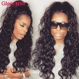 Wholesale hot water hair extensions - New Fashion Glary Mink Brazilian Virgin Hair Bundles Natural Wave Peruvian Hair Weave Water Wave Weave Hair Extensions Hot Sale Indian Curly